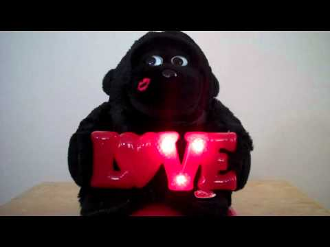Love Monkey Musical Toy