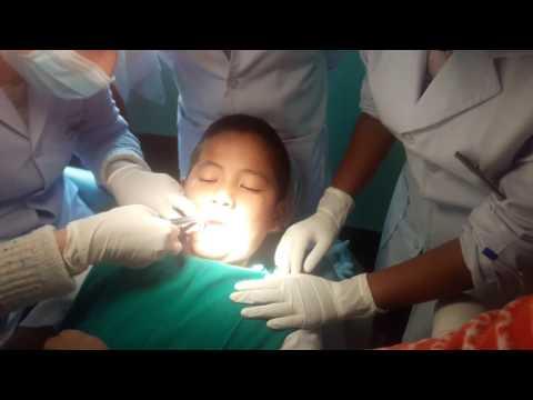 Kantipur Dental Hospital ma Mr.Arman