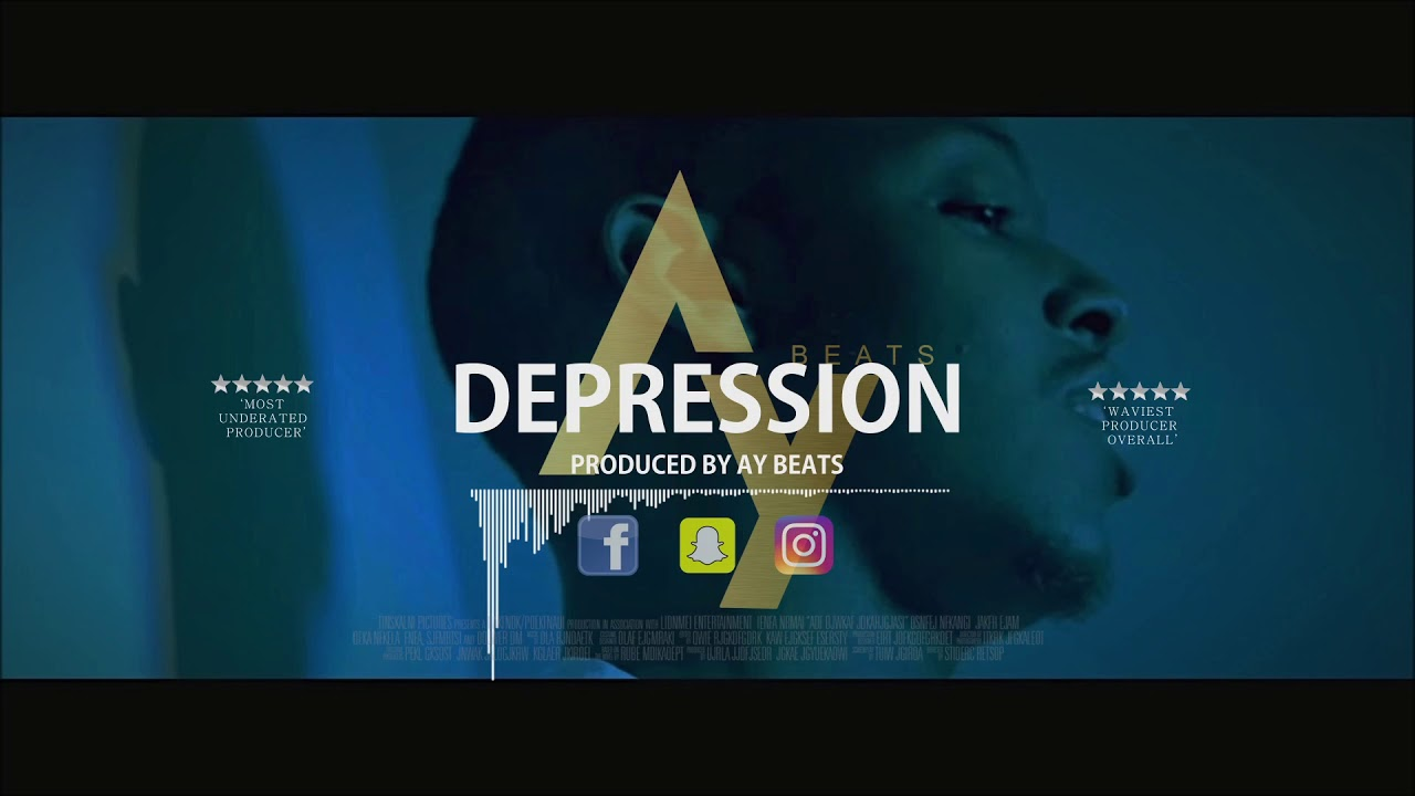 |NEW| Ard Adz x 23 Unofficial Type Beat | 'Depression' | 2019 | Prod  By Ay  Beats