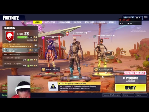 FORTNITE shouting out giveaway ps4 cards vBucks an dxbox ...