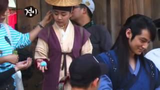 Moon Geun Young and Kim Bum BTS