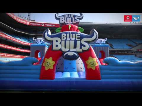 Vodacom Bulls - New Kids Jumping Castle at Loftus Versfeld