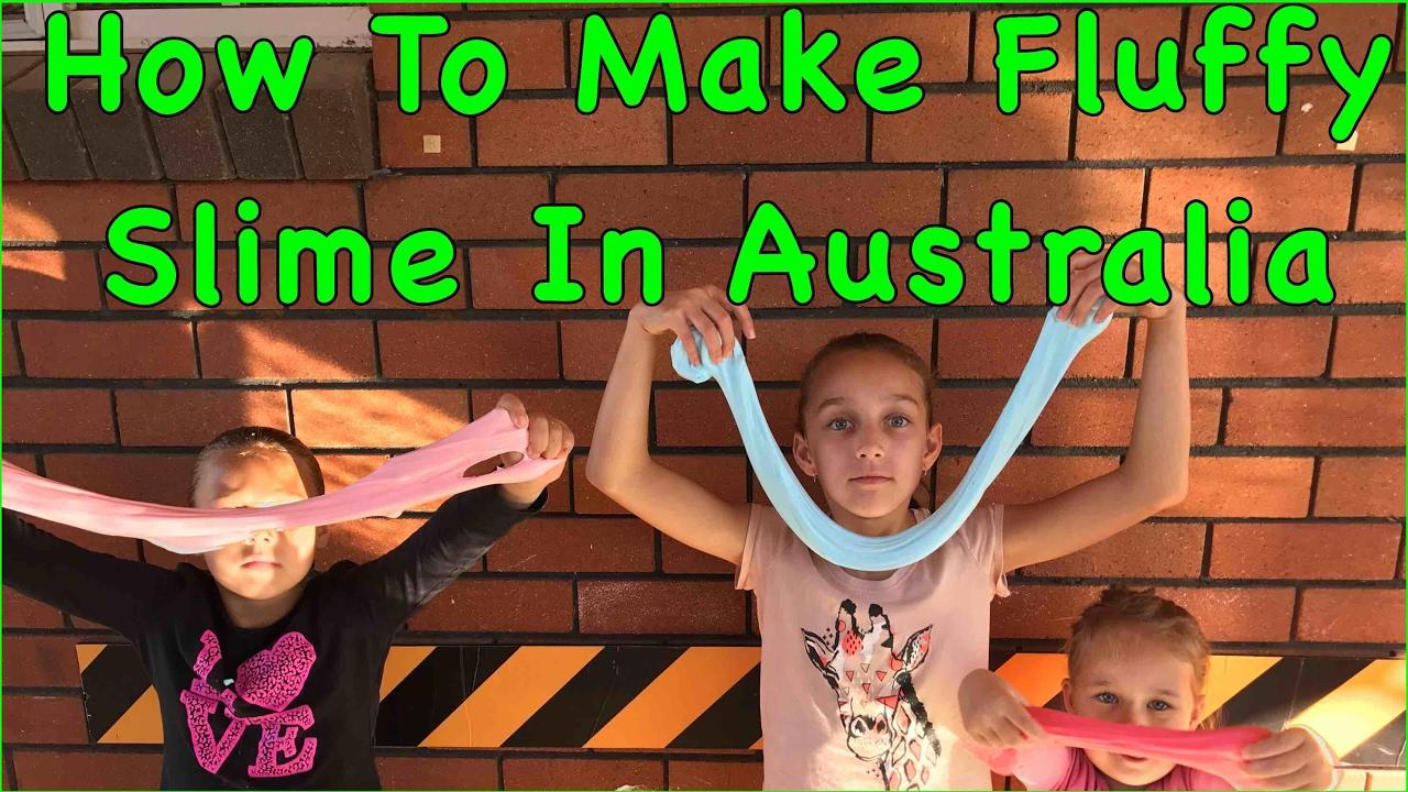 П��🦐how To Make Fluffy Slime In Australia, Straya Made Fluffy Slime🦐😎
