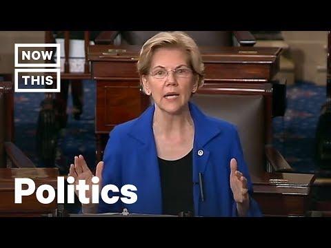 Elizabeth Warren Reads Full Mueller Report in Congress, Calls for Impeachment | NowThis