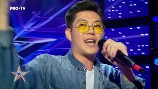 Hip-hop romanesc Kim - Romanii au Talent