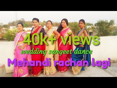 Mehndi Rachan Lagi Yeh Rishta Kya khlata hai and dil se bandhi ek dor..Wedding sangit dance tutorial