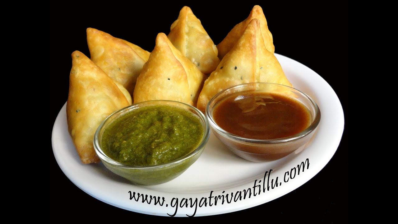 Samosas indian recipes andhra telugu recipes youtube forumfinder Image collections