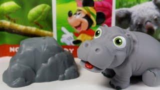 Przyjaciele na Safari #27 • Disney • Hipopotamek Harold • Encyklopedia zwierząt z zabawkami
