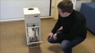 видео Котлы газовые напольные в Украине