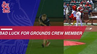 Cardinals grounds crew member is attacked again