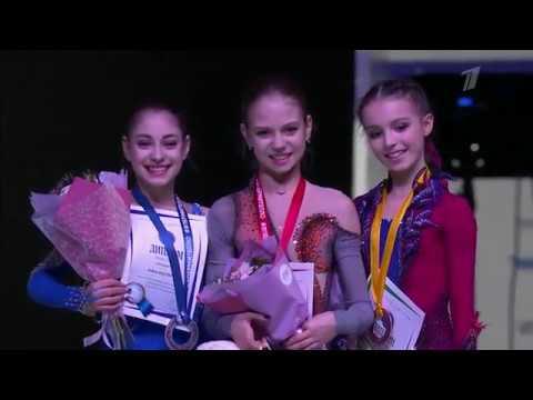 Alexandra Trusova / Russian Junior Nationals 2019 Victory Ceremony
