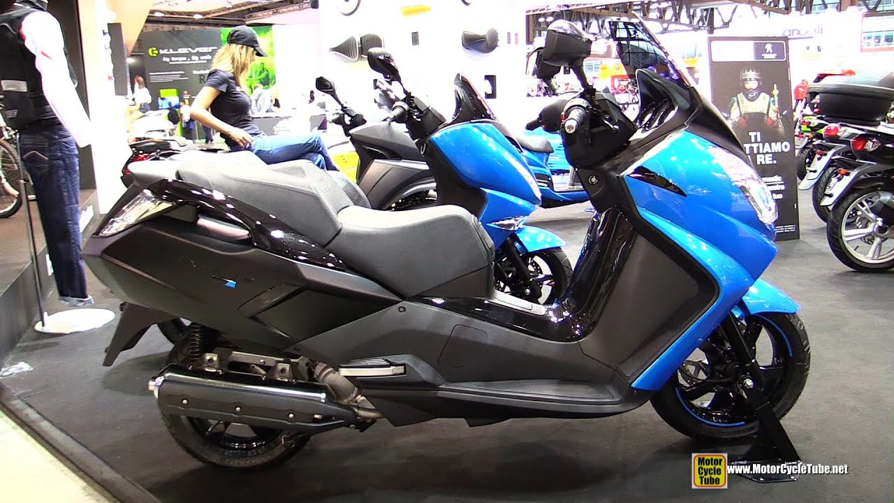 2015 peugeot satelis blue line 125 scooter walkaround 2014 eicma milan motorcycle exhibition. Black Bedroom Furniture Sets. Home Design Ideas