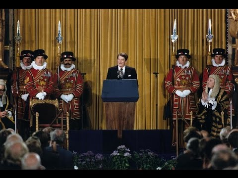 Ronald Reagan - British Parliament Speech