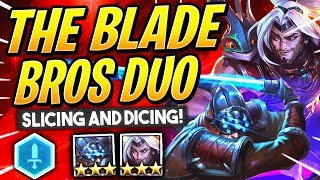MASTER YI & YASUO - 2 BROS HAVING FUN WITH ONE ANOTHER! | TFT Guide | Teamfight Tactics Galaxies
