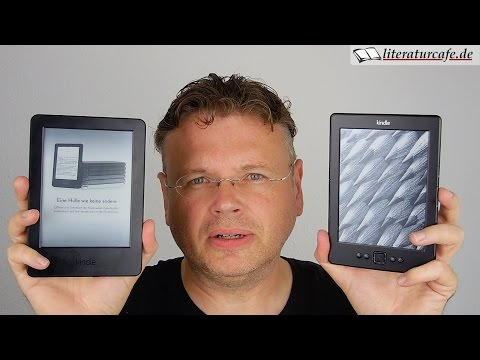 Kindle 2014 (Touch-Display) im Vergleich zum Vorgänger und zum Paperwhite