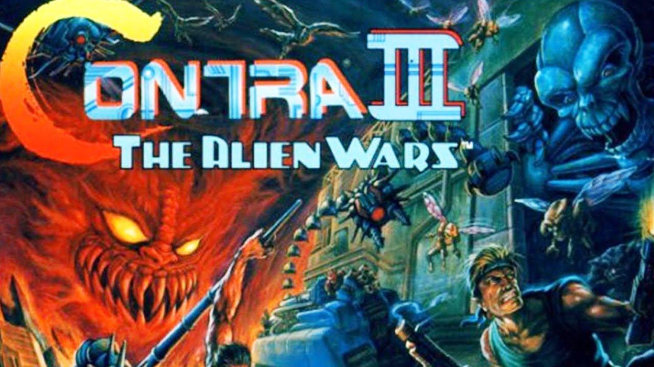 Cgrundertow Contra Iii The Alien Wars For Super Nintendo
