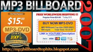 mp3 BILLBOARD 2007 TOP Hits mp3 BILLBOARD 2007