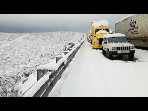 Nevada Monterrey - Laredo km 66 8 de diciembre de 2017