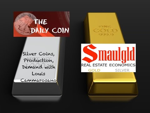 Silver Coins, Production, Demand with Louis Cammarosano