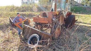 Оживляем брошенный трактор Беларусь спустя 10 лет!
