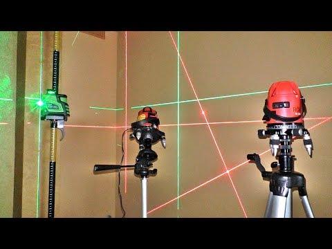 Как выбрать лазерный уровень для ремонта квартиры и не только