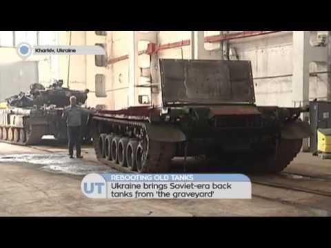 Rebooting Graveyard Tanks: Ukraine rebuilds Soviet-era tanks to boost military