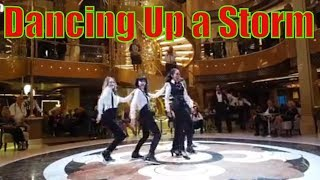 Dancing in the Piazza on the Royal Princess