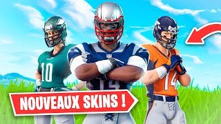 "I BUY ALL THE SKINS OF THE ""NFL"" ON FORTNITE!"