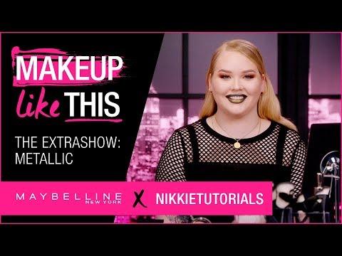 Extra Show 08: Make Metallics Happen   Maybelline New York