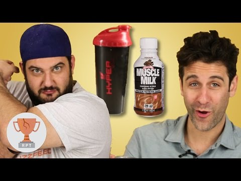 Thumbnail: People Taste Test Protein Shakes