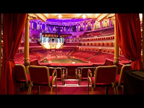 Tours of the Royal Albert Hall