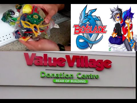Beyblade Hunting EPISODE 5 (HOLY!!!): Value Village Toronto April 19, 2016