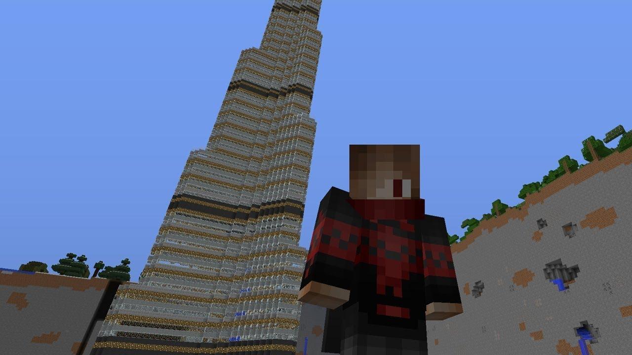 برج خليفة في ماين كرافت