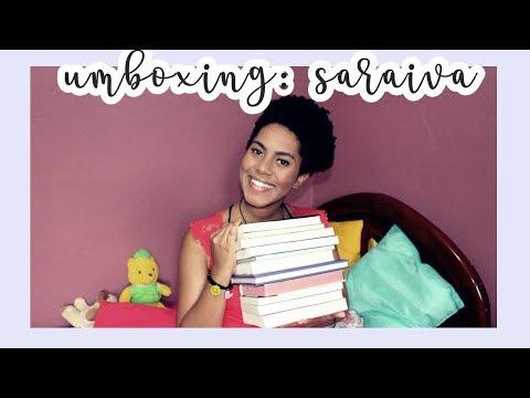 UNBOXING sARAIVA: 11 LIVROS LINDOS