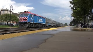 Railfanning the BNSF Racetrack - Afternoon Metra Rush in Downers Grove - 4K
