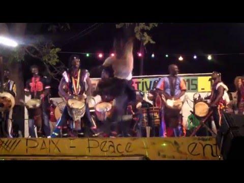Babara Bangoura band Senegal Abene Festival 2016