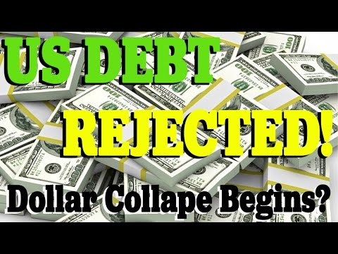 US DEBT REJECTED - Has the Dollar Collapse BEGUN?  | Jim Willie