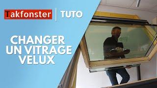 comment changer un vitrage velux sur fenetre de grande taille