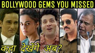 Top 10 UNDERRATED Bollywood Movies of 2019  Where to Find Them