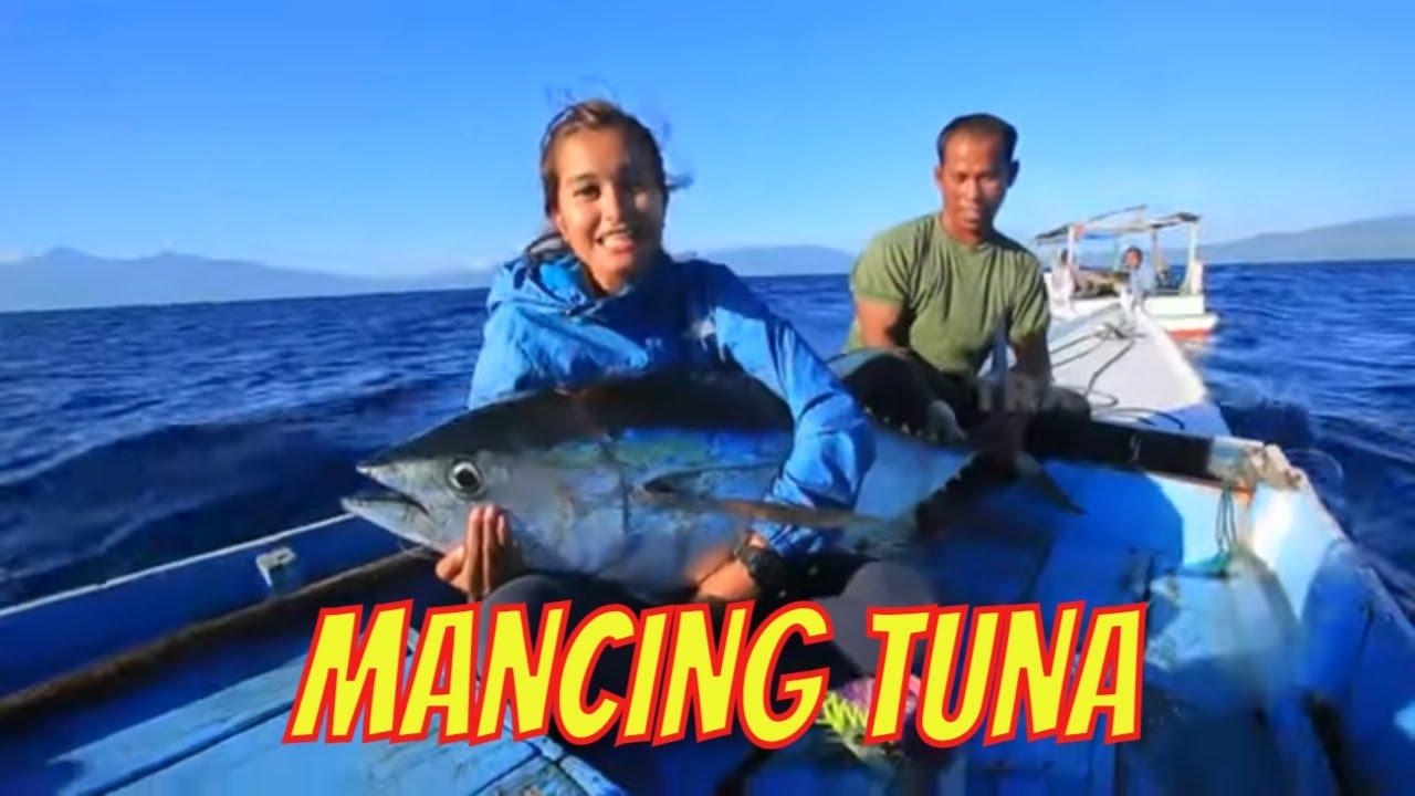 Vika Fitriyana Mancing Ikan Tuna | JEJAK PETUALANG