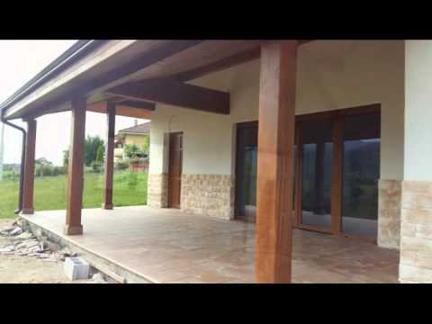 Casas de madera construccion modernas youtube for Construccion casas