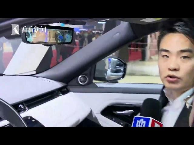 视频|2019上海车展|记者体验全新一代路虎揽胜极光