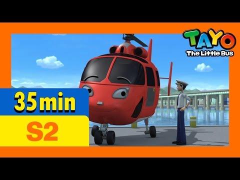 [Tayo S2] Full Episodes S2 E20-E22 (7/8) l Gani's present l Air, the brave helicopter l