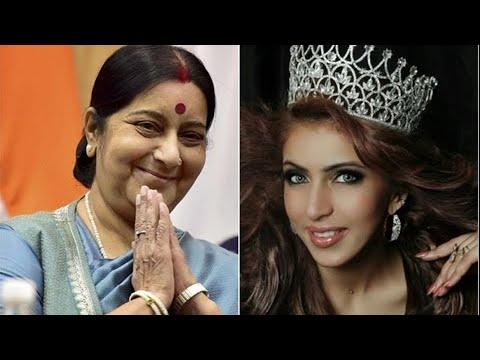 Miss India Tourism Ishika Taneja Has Found A Unlikely Savior In Union Minister Sushma Swaraj