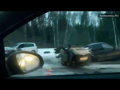 Жуткая авария на трассе Иваново Родники