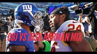 ODELL BECKHAM JR. vs JOSH NORMAN MIXTAPE