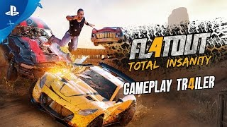 FlatOut 4: Total Insanity - Gameplay Trailer | PS4