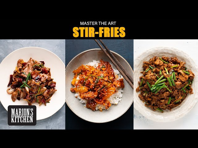 Make your BEST stir-fries at home  | Marions Master the Art Series | AtHome WithMe