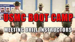 EPIC Speech from Marine Corps Drill Instructors - USMC Boot Camp Day 1