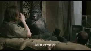 Maymunlar Cehennemi  Şafak Vakti  Fragman  Türkçe altyazılı
